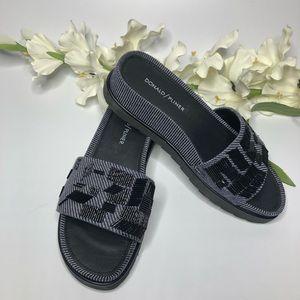 Donald Pliner Cava Slide Sandal in Denim-NWOT